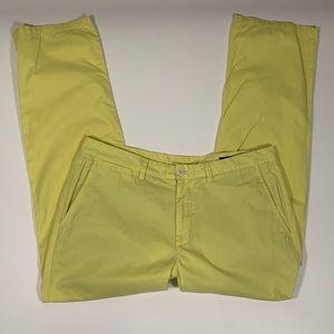 Bonobos straight leg pants yellow  36/30
